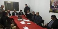 القدرة يجتمع بأمناء سر المكاتب الحركية في اقليم وسط خانيونس