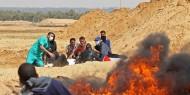 محدث: شهيدان واكثر من241 اصابة بالرصاص والاختناق على حدود غزة