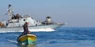 بحرية الاحتلال تعتقل صيادين قبالة شاطئ غزة
