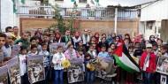 """أشبال وزهرات """"فتح"""" يزورون منزل الراحل """"عرفات"""" بغزة"""