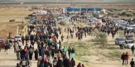 إصابات خلال قمع الاحتلال المسيرات السلمية شرق قطاع غزة