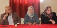 مفوضيتا المرأة والاشبال بالهيئة القيادية تجتمعان مع إقليم شرق غزة
