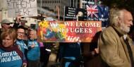 الآلاف يحتشدون في مدن أسترالية للاحتجاج ضد سياسة الحكومة تجاه اللاجئين