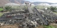 الاحتلال يهدم منزلا قيد الإنشاء في مدينة أريحا