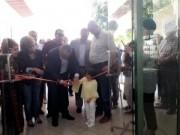 أبو سيف يفتتح معرض الفن التشكيلي للفنانة حلا الدباس
