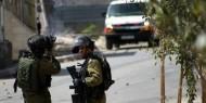 اصابة العشرات بالاختناق خلال اقتحام الاحتلال لبلدة سبسطية شمال نابلس