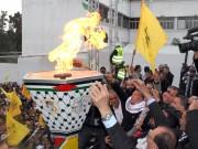 تقرير حول مهرجان انطلاقة الثورة الفلسطينية، إنطلاقة حركة فتح ال55 في شارع الوحدة وسط مدينة غزة