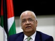 عريقات: التهديد بفرض عقوبات على الرئيس محمود عباس بلطجة وإبتزاز