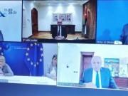 وزراء خارجية فرنسا وألمانيا ومصر والأردن يؤكدون عدم الاعتراف بأي تغييرات على حدود 67