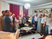 المكتب الحركي للمهن الطبية غرب غزة ينظم سلسلة زيارات لتهنئة الناجحين بالتوجيهي