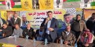 عائلة بربخ بخانيونس تقيم حفل مبايعة وتأييد للرئيس أبو مازن وحركة فتح