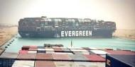 استئناف الملاحة بقناة السويس بعد تعويم السفينة العالقة