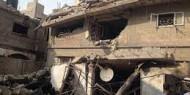 انتشال جثماني شهيدين من تحت أنقاض أحد المنازل المستهدفة في بلدة بيت لاهيا
