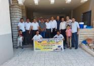 فتح إقليم الشرقية منطقة الشهيد محمود أبو يونس تشرع بتوزيع لحوم الأضحية